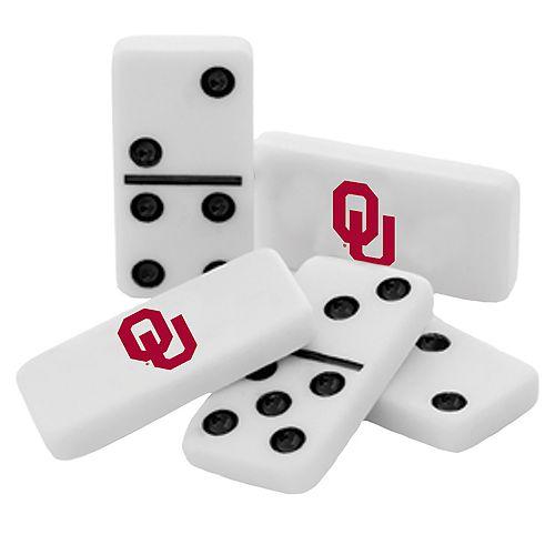 Oklahoma Sooners Double-Six Collectible Dominoes Set