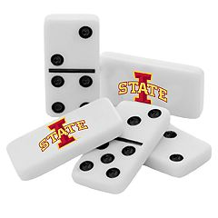 Iowa State Cyclones Double-Six Collectible Dominoes Set