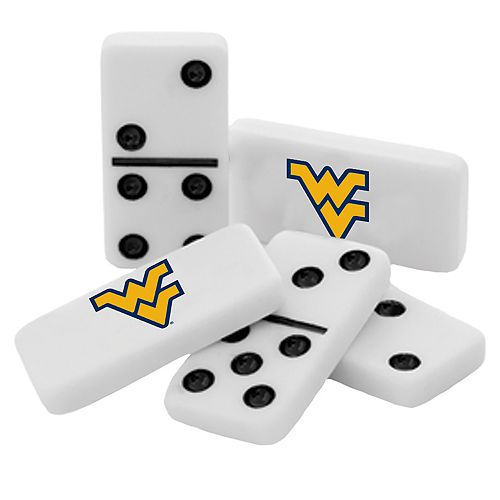 West Virginia Mountaineers Double-Six Collectible Dominoes Set