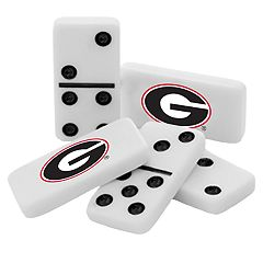 Georgia Bulldogs Double-Six Collectible Dominoes Set