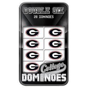 Georgia Bulldogs Double-Six Collectible Dominoes Set