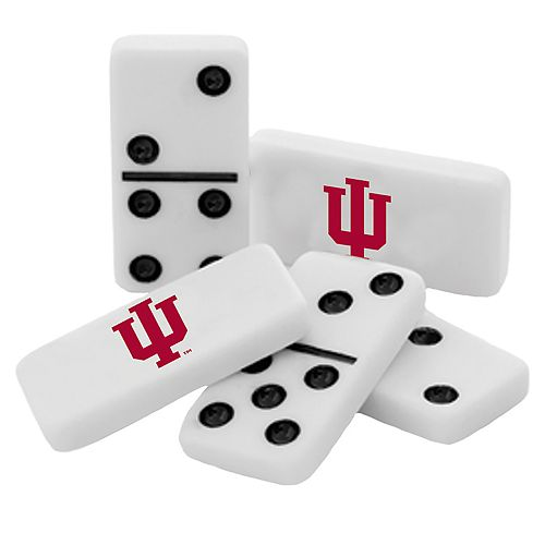 Indiana Hoosiers Double-Six Collectible Dominoes Set