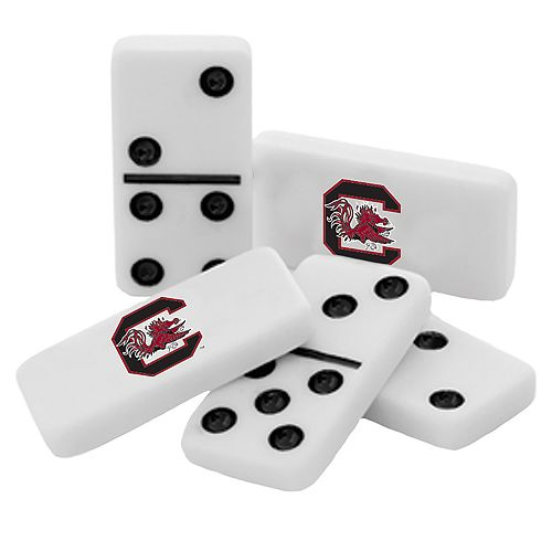 South Carolina Gamecocks Double-Six Collectible Dominoes Set