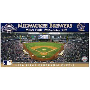 Milwaukee Brewers MLB Panoramic Puzzle