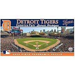 Detroit Tigers MLB Panoramic Puzzle