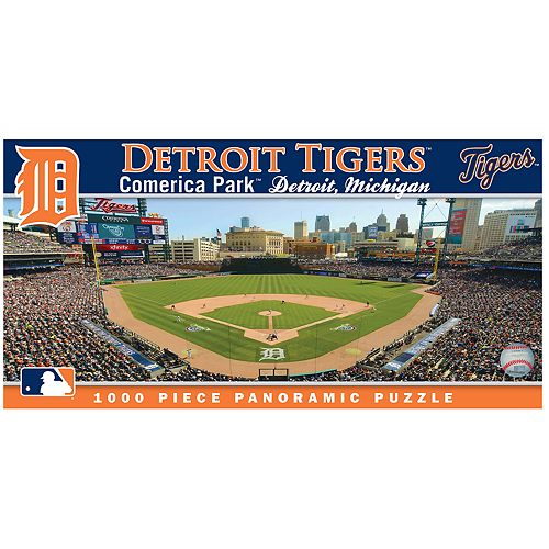 Detroit Tigers MLB Panoramic Puzzle