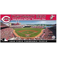 Cincinnati Reds MLB Panoramic Puzzle