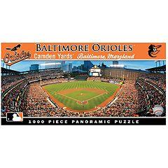 Baltimore Orioles MLB Panoramic Puzzle