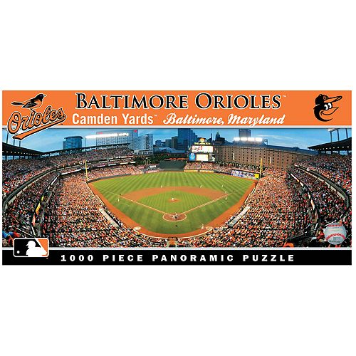 Baltimore Orioles MLB Panoramic Puzzle