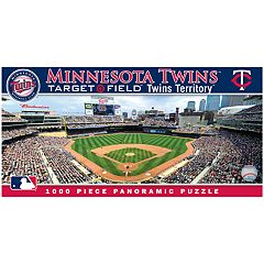 Minnesota Twins MLB Panoramic Puzzle