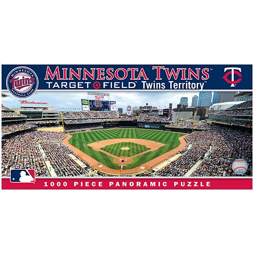 Minnesota Twins MLB Panoramic Puzzle