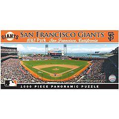 San Francisco Giants MLB Panoramic Puzzle