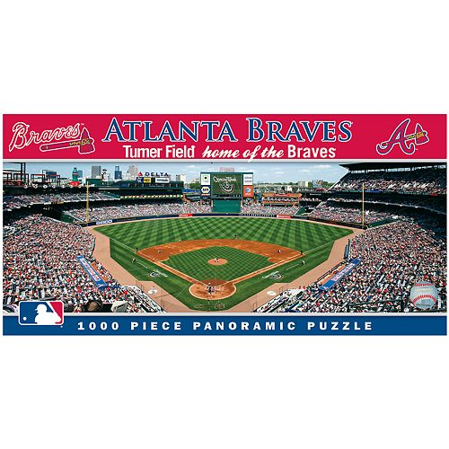 Atlanta Braves MLB Panoramic Puzzle