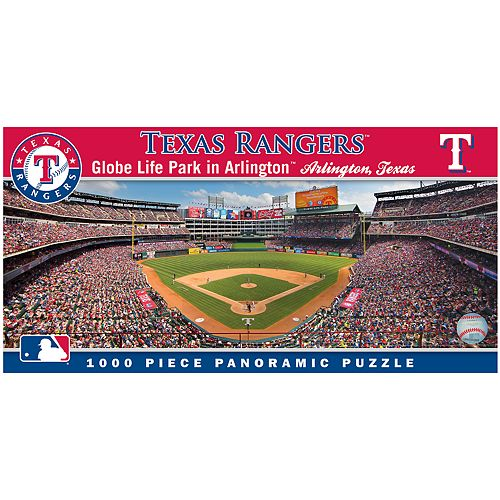 Texas Rangers MLB Panoramic Puzzle