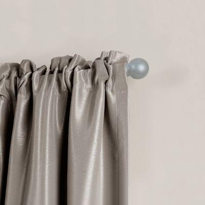 Maytex Smart Rods Easy Install Cafe Window Curtain Rod