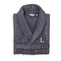 Linum Home Textiles Turkish Cotton Personalized Unisex Terry Cloth Bathrobe