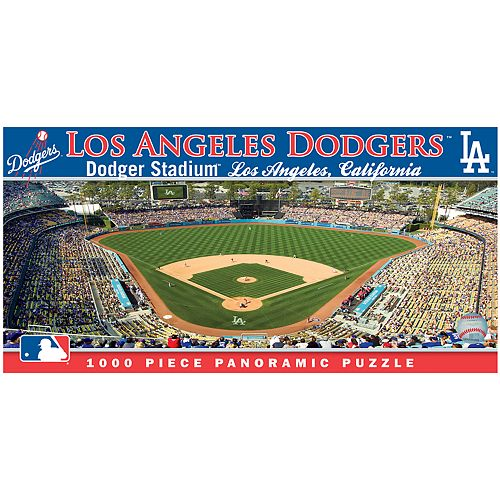Los Angeles Dodgers MLB Panoramic Puzzle