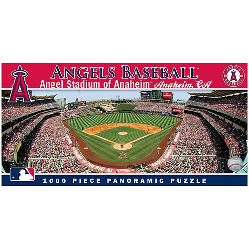 Los Angeles Angels of Anaheim MLB Panoramic Puzzle