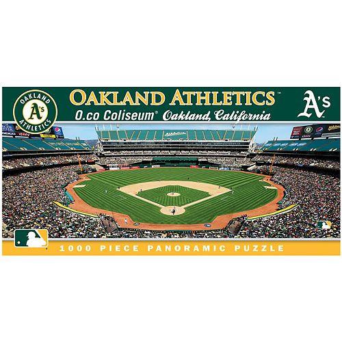 Oakland Athletics MLB Panoramic Puzzle