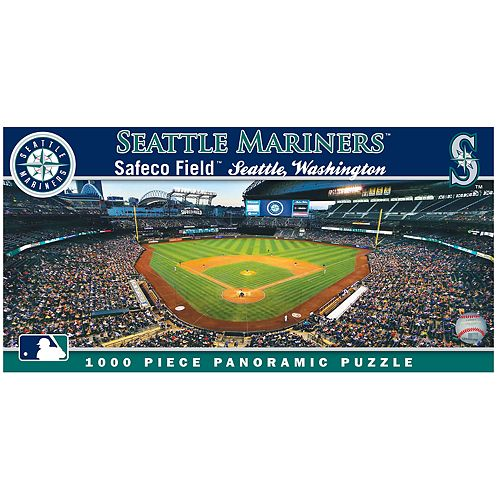 Seattle Mariners MLB Panoramic Puzzle