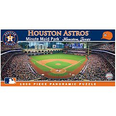 Houston Astros MLB Panoramic Puzzle