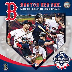 Boston Red Sox MLB Home Plate Shaped Puzzle