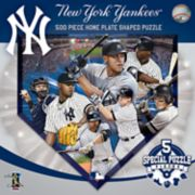 New York Yankees MLB Home Plate Shaped Puzzle
