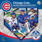 Chicago Cubs MLB Home Plate Shaped Puzzle