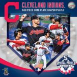 Cleveland Indians MLB Home Plate Shaped Puzzle