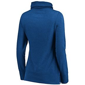 Women's Majestic New York Knicks Cocoon Neck Pullover Top