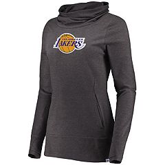 Women's Majestic Los Angeles Lakers Cocoon Neck Pullover Top