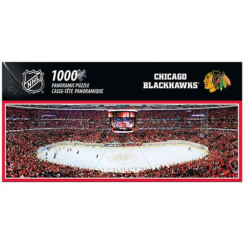 Chicago Blackhawks 1000-Piece Panoramic Puzzle