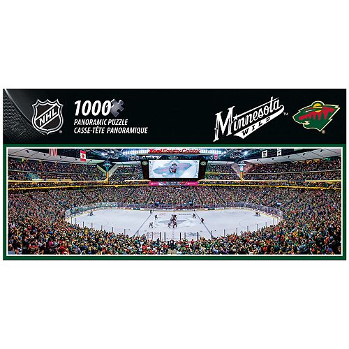 Minnesota Wild 1000-Piece Panoramic Puzzle