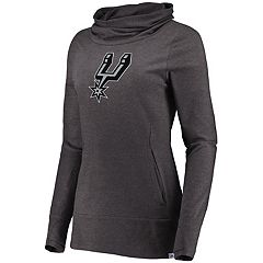 Women's Majestic San Antonio Spurs Cocoon Neck Pullover Top
