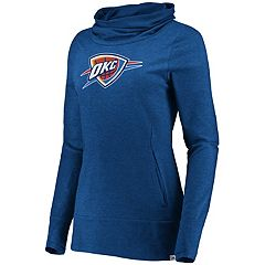 Women's Majestic Oklahoma City Thunder Cocoon Neck Pullover Top