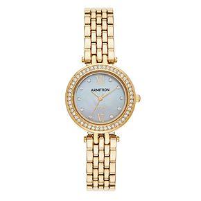 Armitron Women's Solar Crystal Watch - 75-5623MPGP