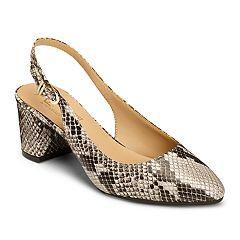 A2 by Aerosoles Silver Age Women's Slingback Heels