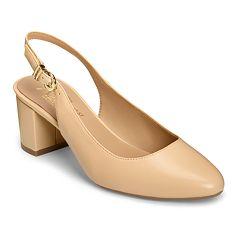 2dde8fa5fdd A2 by Aerosoles Silver Age Women s Slingback Heels