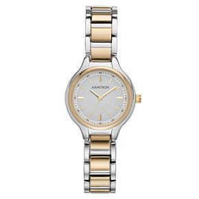 Armitron Women's Two Tone Solar Watch - 75-5625WTTT