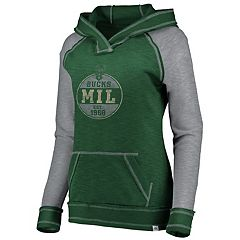 Women's Majestic Milwaukee Bucks Hyper Hoodie