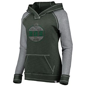 Women's Majestic Boston Celtics Hyper Hoodie