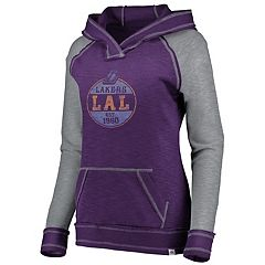 Women's Majestic Los Angeles Lakers Hyper Hoodie