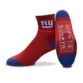 Adult For Bare Feet New York Giants 2-Pack Slipper Socks