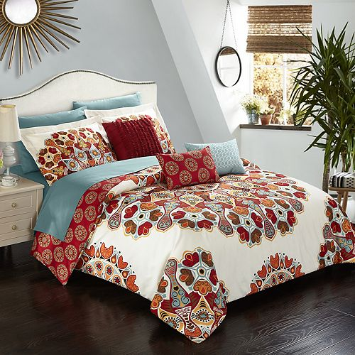 Aberdeen Twin 8-piece Bedding Set