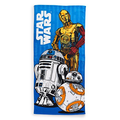 Disney S Star Wars Droid Beach Towel By Jumping Beans