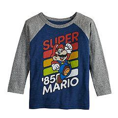 Toddler Boy Jumping Beans® Super Mario Bros. 'Super '85 Mario' Raglan Tee