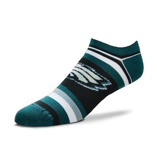 Women's For Bare Feet Philadelphia Eagles No-Show Socks