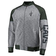Men's Majestic Cleveland Cavaliers Hyperstria Full-Zip Fleece