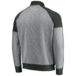 Men's Majestic Boston Celtics Hyperstria Full-Zip Fleece