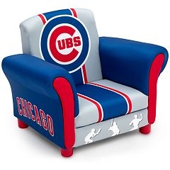 Delta Children Chicago Cubs Kids Upholstered Arm Chair